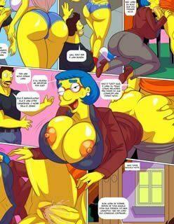 Os Simpsons Pornô – Foda com as vizinhas