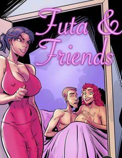 Sexo com a amiga futanari