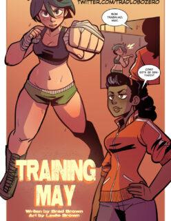 O treino pesado de May